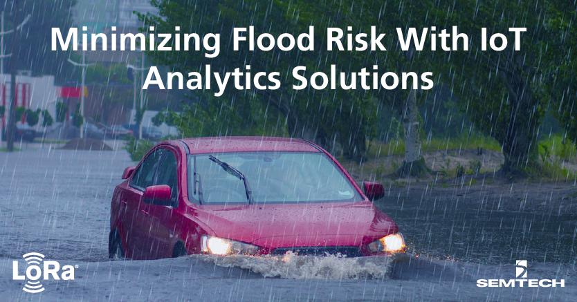 使用物联网分析解决方案最大限度地降低洪水风险